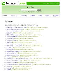 テクノラティジャパン