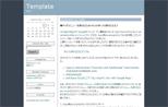 Seesaaブログ・2カラムテンプレート(左サイドバー)