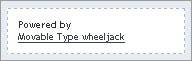 Movable Type wheeljack