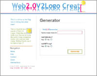 Web2.0 Logo Creator by Alex P