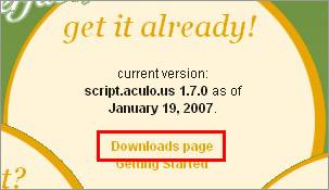 script.aculo.us のページ
