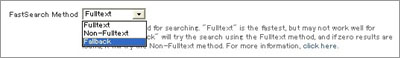 FastSearch Method