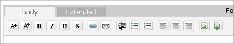 HTMLタグ埋め込み用アイコン