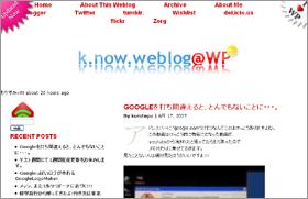 k.now.weblog@WP