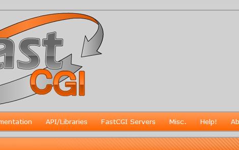 FastCGIのサイト