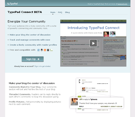 TypePad Connect