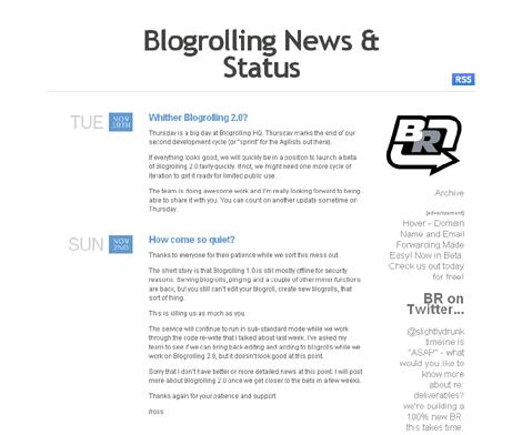 Blogrolling