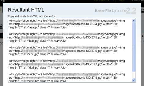 「Embedded Image」をクリックした場合の画面