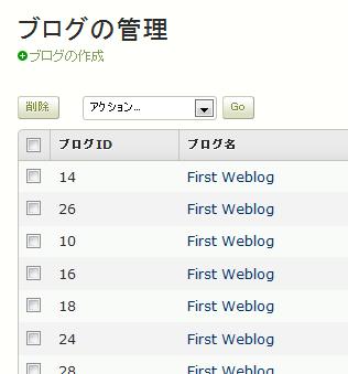 ウェブサイト・ブログの表示