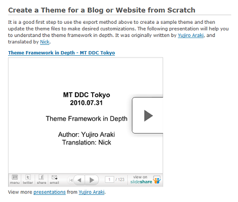 Create a Theme for a Blog or Website from Scratch