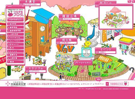 大阪経済大学メッセージサイト「つながるブログ。」