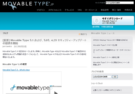 Movable Type 5.1