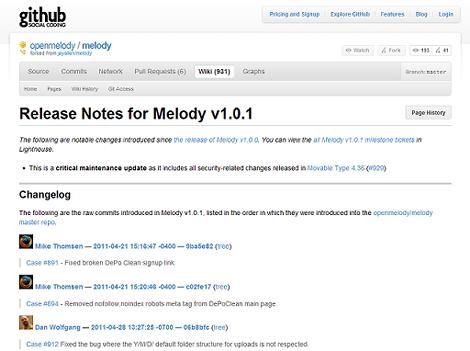 Melody 1.0.1