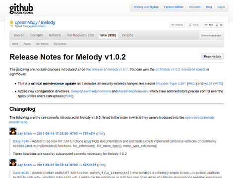Melody 1.0.2