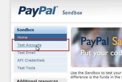 Sandboxのページ