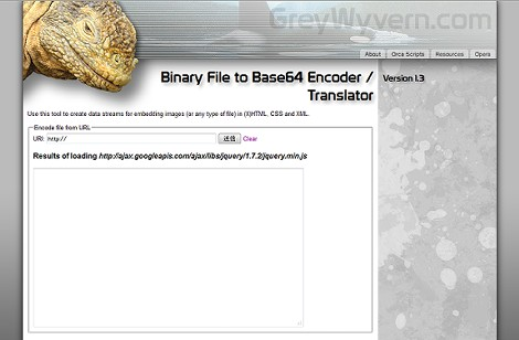 Binary File to Base64 Encoder / Translator