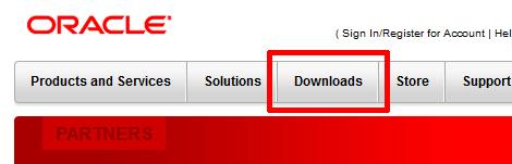 Oracleのトップページ