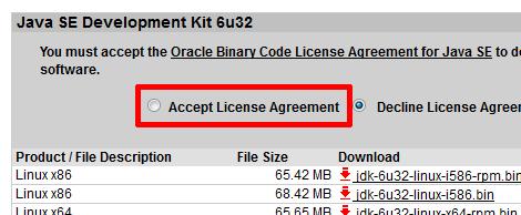 Java SE Development Kit 6u32