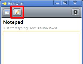 Notepad機能
