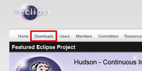 Eclipseのサイト