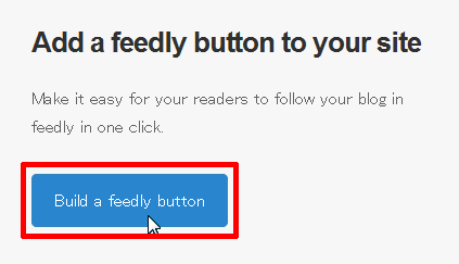 Add a feedly button to your site
