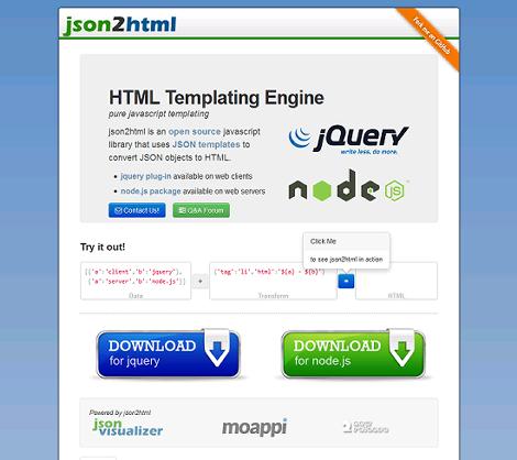 JSON2HTML