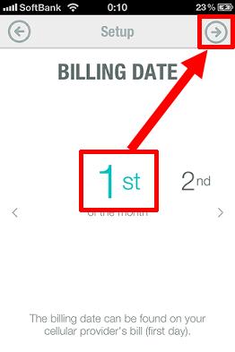 BILLING DATE