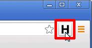 「H」のアイコン