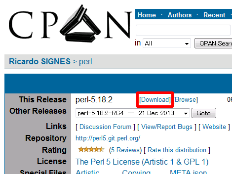 Ricardo SIGNES / perl - search.cpan.org
