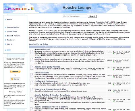 Apache Lounge