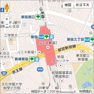 Google Maps API v3を使った地図