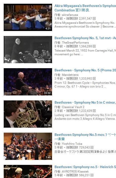「ベートーベン 運命」で検索