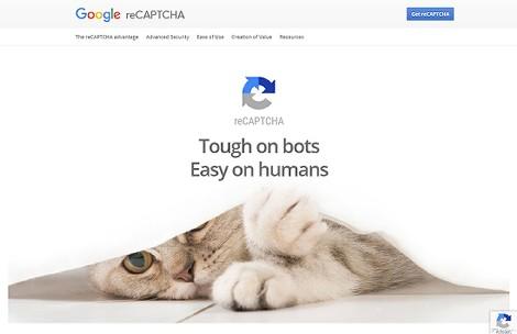 reCAPTCHAのサイト