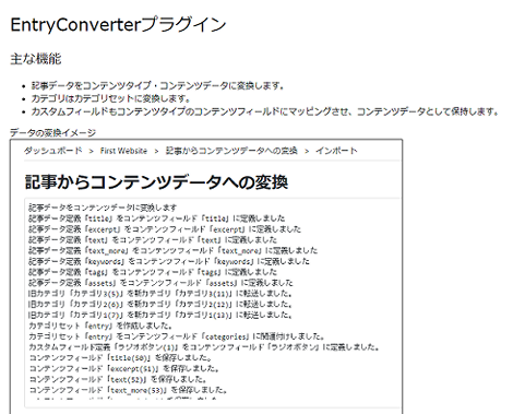 EntryConverterプラグイン